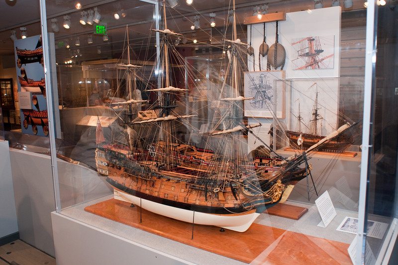 2009-10-03 - USNA Museum - 036 - Duke - 2nd Rate 98-Gun Ship of 1777 - _DSC7418.jpg