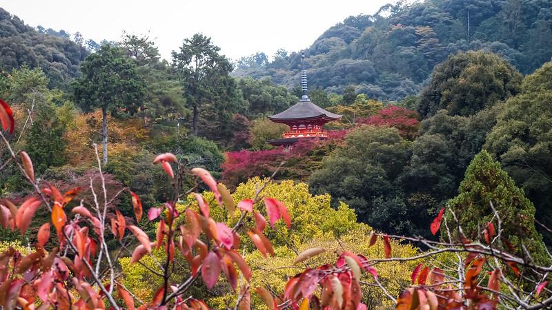 Kyoto / de Kiyomizu-dera tempel