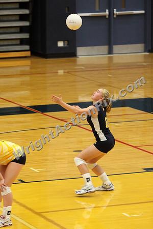 2009 09 15 JV Volleyball vs. Farmington