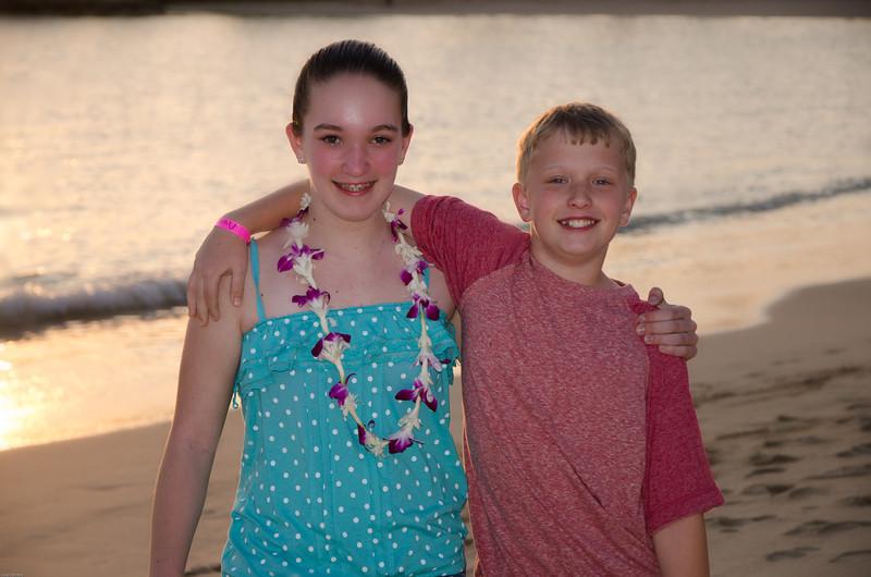 Emily and Mitchell at Aulani