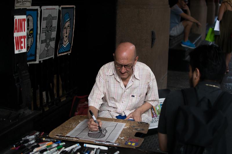 Soho artist