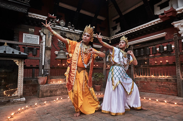 The Ancient Tantric Buddhist Dances of the Newaris, Nepal.