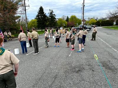 Troop 98 Outdoor Meeting 4-18-2021