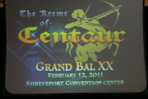 2011 - 02-12 Krewe of Centaur Mardi Gras Grand Bal