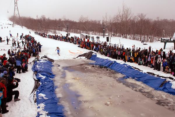 Jay Peak Pond Skimming Contest