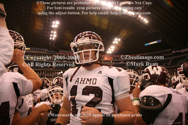 November 29,2008 Texas Stadium - Wylie High School Individual Football Team Members