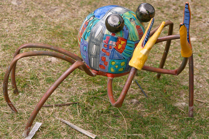 Soldier Crabs, by Monte Lupo, SWELL Sculpture Festival,   http://www.swellsculpture.com.au/  Currumbin, 17 September, 2008