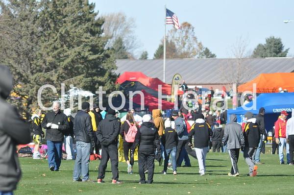 Iowa Class 3A girls cross country state meet (11-1-14)