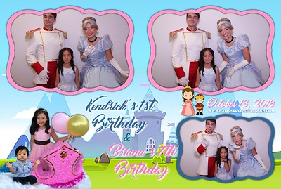 Briana & Kendrick Birthday