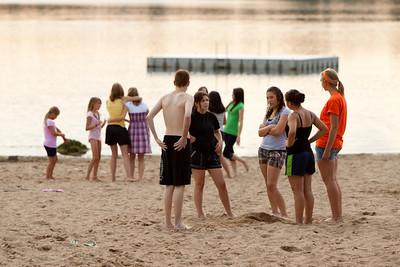2009 Youth Baptism at Bush Lake
