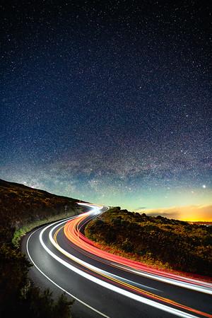 2018-12-31 Haleakala Cars and Stars