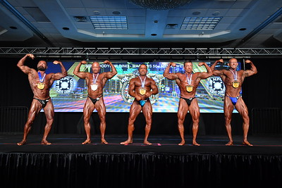 Men's Bodybuilding Masters 50+ MW