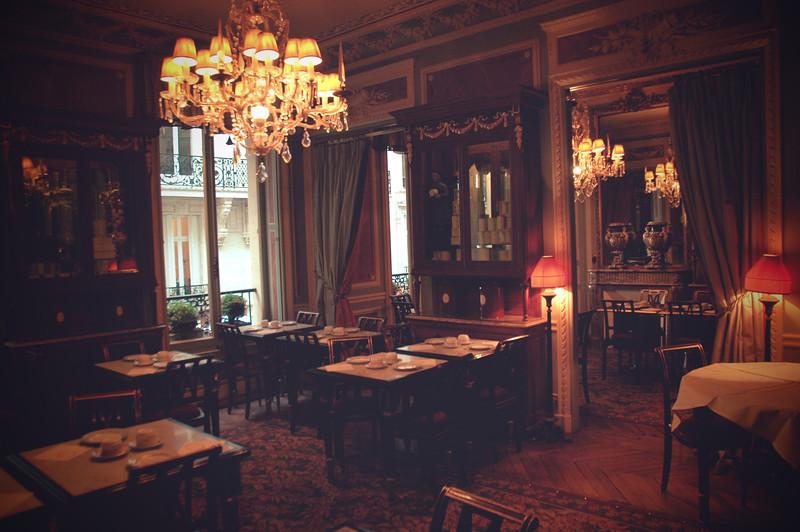 The Dining Room in LaDuree