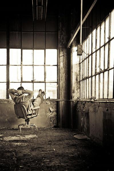 Abandoned building, Rockford , IL. Photographer - Ryan Davis Photography, Rockford, IL