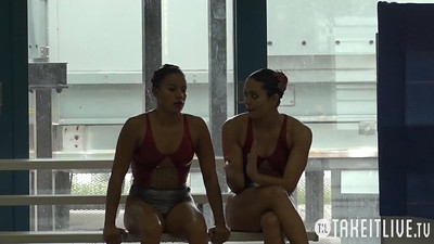 E04 Senior Duet Tech Competition 2015 U.S. Open Synchronized Swimming Championships - Takeitlive.tv Livesynchro Channel