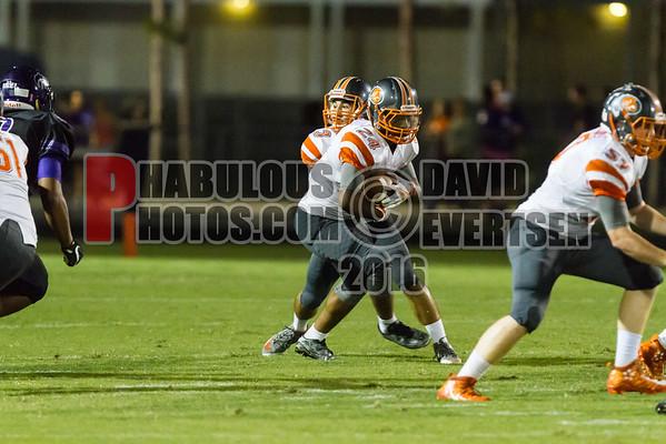 Boone Braves @ Timber Creek Wolves  Varsity Football - 2016