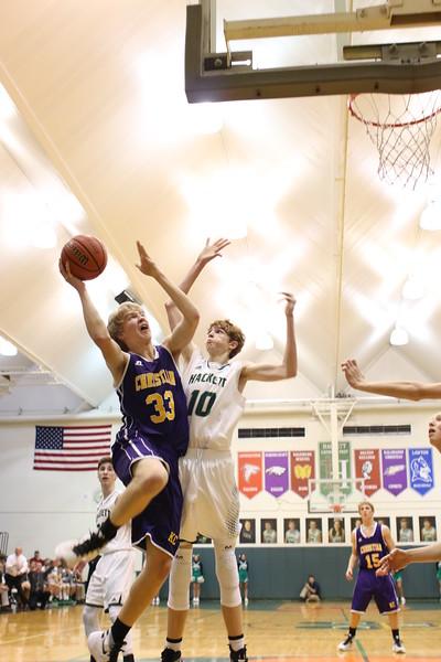 Boys Basketball vs. Hackett - 1/15/16 - KCHS