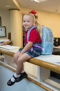 Pre-K Starts School - August 22, 2014