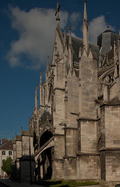 Troyes Saint-Urbain Basilica North Transept Facade