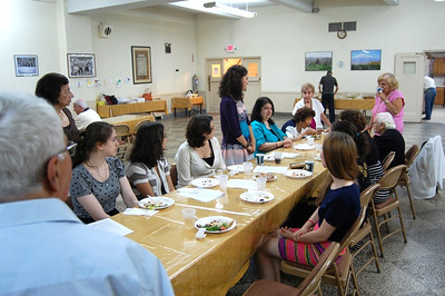 AGBU Summer Interns Visit Holy Cross Church, NYC 2012