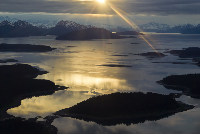 A slightly different view of Glacier Bay. June 17, 2011.