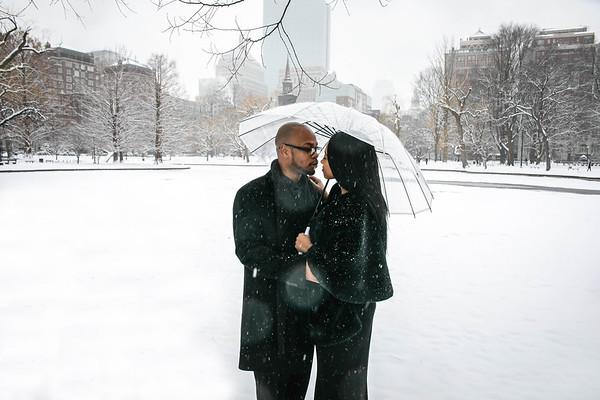 Alex & Jr. Engagement - Boston
