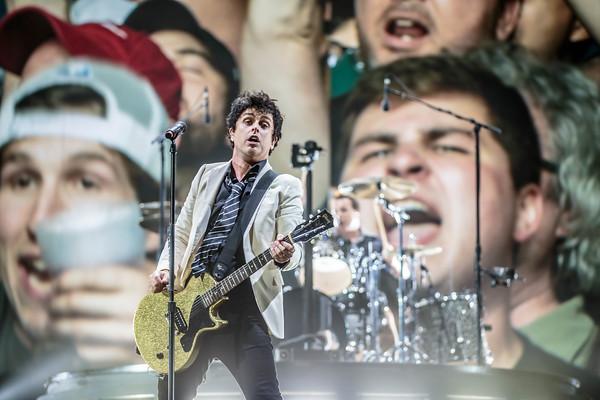Green Day at Fenway Park - Boston, MA