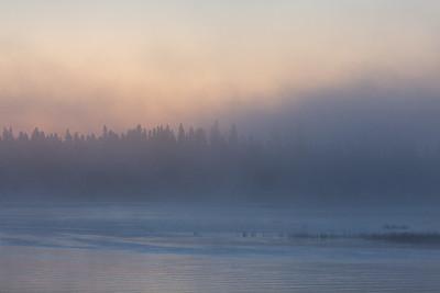 Foggy sunrise 2016 September 23rd