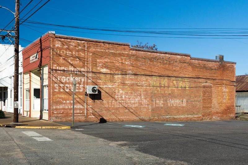GA, Lumpkin - Coca-Cola Wall Sign