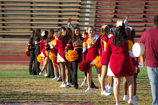 Modesto Junior College Cheer -- 09/11/10
