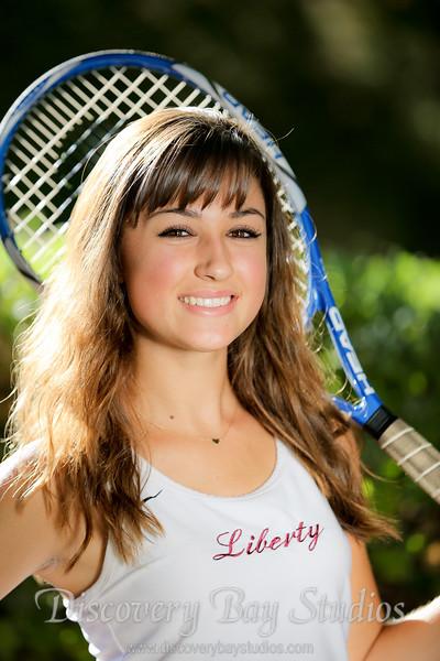 Liberty Tennis Girls 10-29-2014