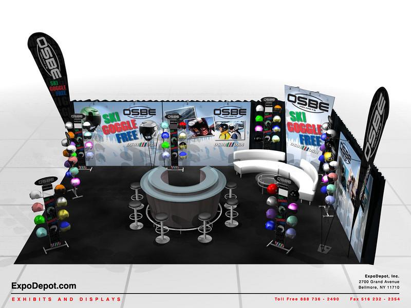 OSBE USA, 20 x 30 Custom Booth