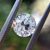 1.10ct Old Mine Cut Diamond, GIA J VVS2 0