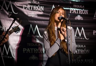 Christina Perri at Milieu 02.11.14