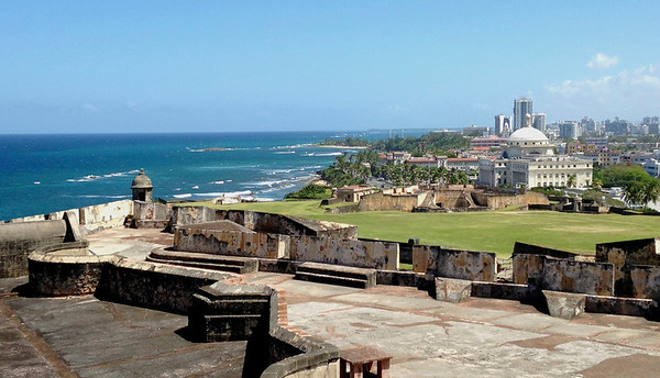 Castillo San Cristobal/Fort/Old San Juan/Isolatek Ladies/Puerto Rico - Feb., 2014