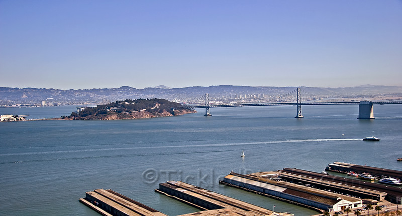 Oakland Bay Bridge and Treasure Island