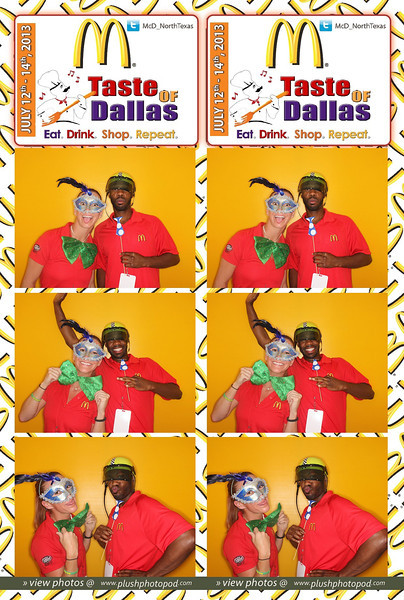 McDonald's-Taste of Dallas Saturday