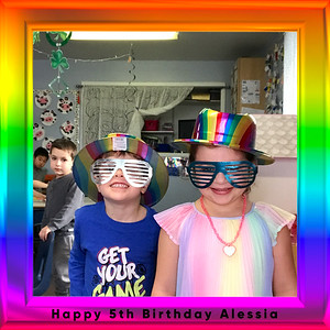 Happy 5th Birthday Alessia