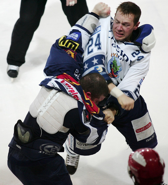 Blaze v Edinburgh Capitals - 22/02/2009
