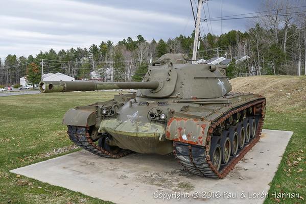 Maine VFW, American Legion, Veterans Parks, Monument Vehicles