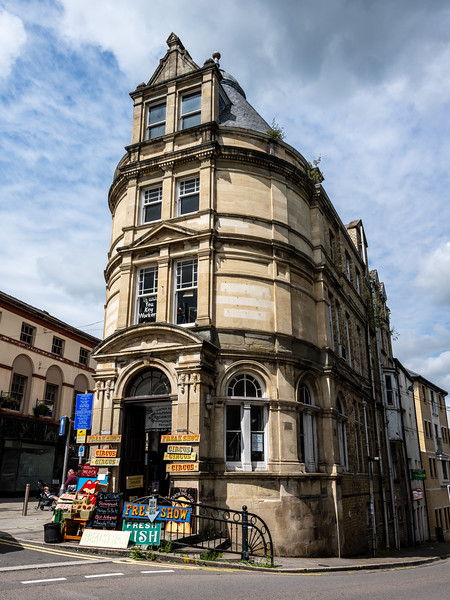 Old Barclays Bank in Pontypool