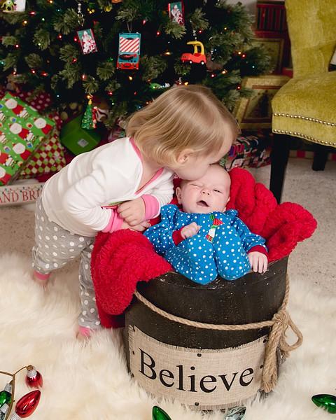 Haven & Jack ~ Christmas 2013