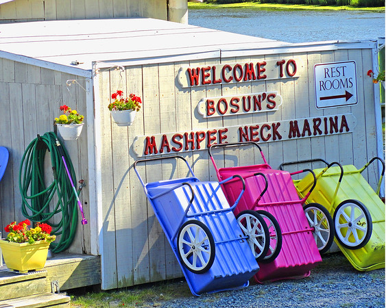 Memories of Mashpee Neck Marina