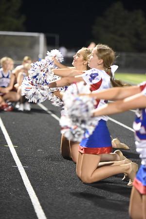 Dance Team - Columbus Football game