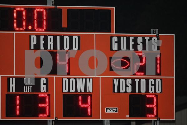 Varsity-Oak Grove vs Clinton 10-23-09
