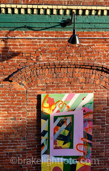 Brick Wall & Mural