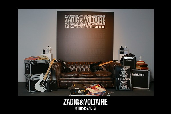 ZADIG &  VOLTAIRE FLY&PRINT