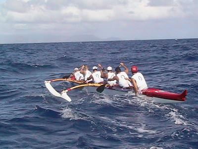 53rd Annual  Molokai Hoe 10-10-2004