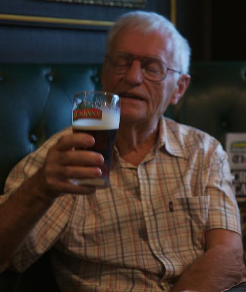 drinking Kilkenny in my local pub.