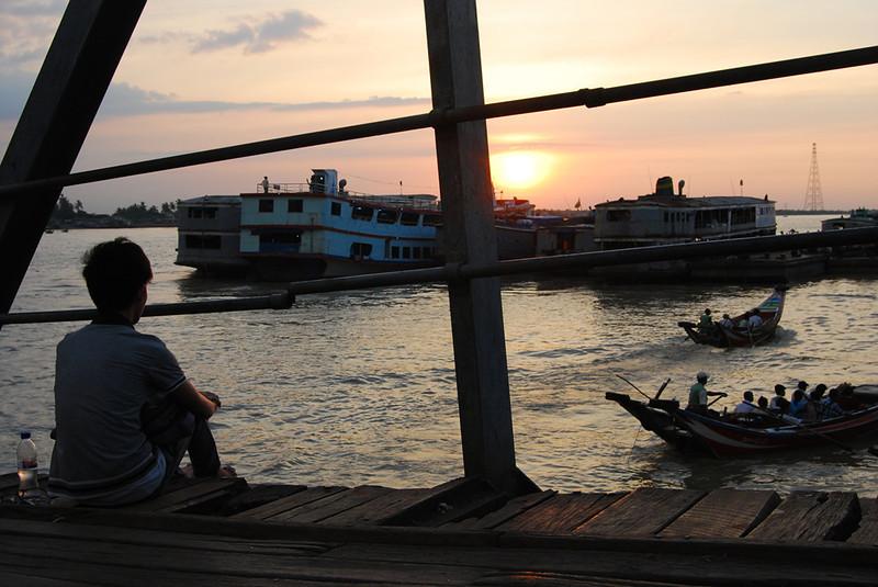 Yangon River at Sunset Myanmar (6).jpg